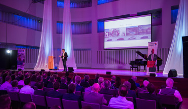 Foto van zaal ABAB jaarcongres Forward Thinking