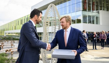 King opens Brainsport Industries Campus